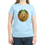 Klimt's Flower Garden Women's Light T-Shirt