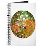 Klimt's Flower Garden Journal