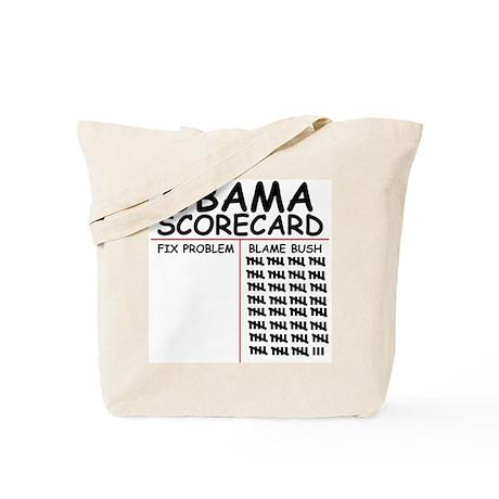 Blame Bush Tote Bag