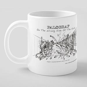 Palsgraf Wraparound 20 oz Ceramic Mega Mug