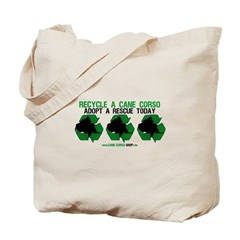 Recycled Cane Corso Tote Bag