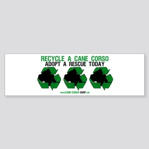 Recycled Cane Corso Bumper Sticker