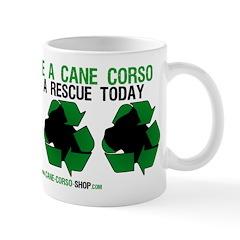 Recycled Cane Corso Mug