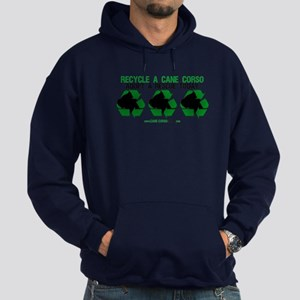 Recycled Cane Corso Hoodie (dark)