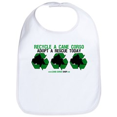 Recycled Cane Corso Bib