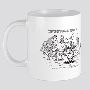 Intentional Tort Wraparound 20 oz Ceramic Mega Mug