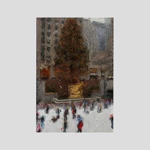 Rockefeller Center Rectangle Magnet