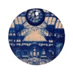 Grand Central Station Ornament (Round)