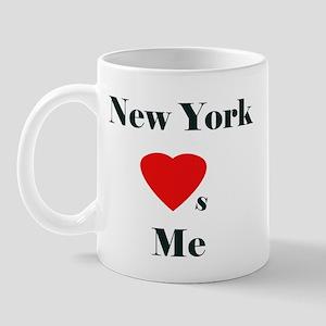 New York Loves Me Mug