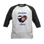 Grandma is a Nurse Kids Baseball Jersey