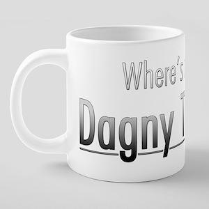 Dagny Taggert of Atlas Shru 20 oz Ceramic Mega Mug