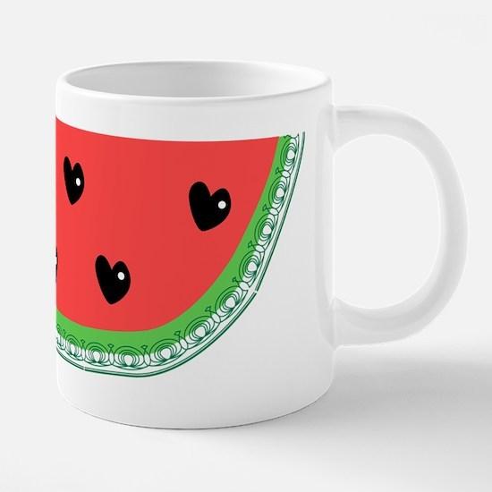watamelon.png 20 oz Ceramic Mega Mug