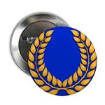 Blue with gold laurel Button