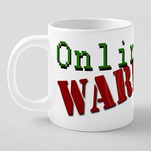 ONLINEWARRIOR 20 oz Ceramic Mega Mug