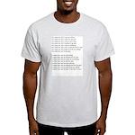He Called Me T-Shirt (grey)