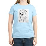 Great Pyrenees Headstudy Women's Light T-Shirt