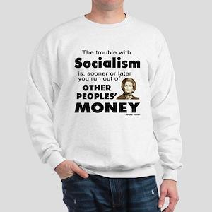 Thatcher Socialism Quote Sweatshirt