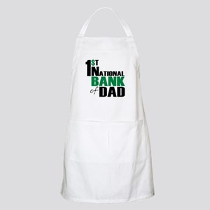 Bank of Dad BBQ Apron