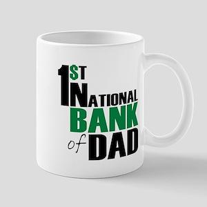 Bank of Dad Mug