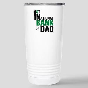 Bank of Dad Stainless Steel Travel Mug