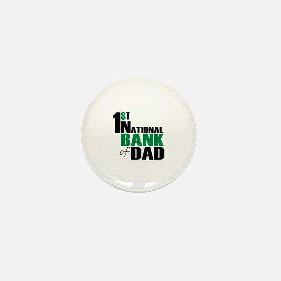 Bank of Dad Mini Button