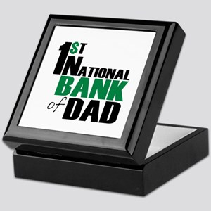 Bank of Dad Keepsake Box