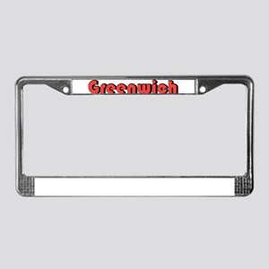 Greenwich, Connecticut License Plate Frame