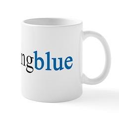 Something Blue Bride Mug