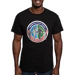 American Families United Men's Fit'd T-Shirt(dark)
