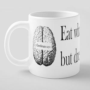 H_cerebrum 20 oz Ceramic Mega Mug