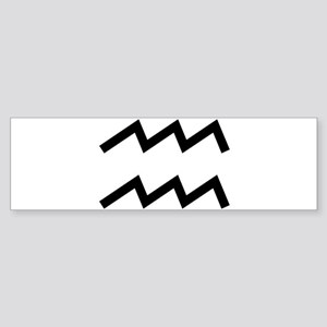 Aquarius Bumper Sticker