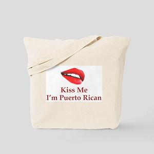 Kiss Puerto Rican Tote Bag