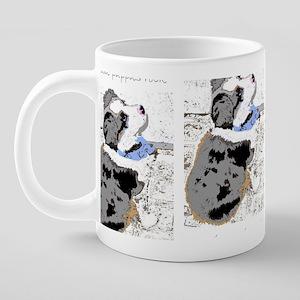 puppyartmug.jpg 20 oz Ceramic Mega Mug