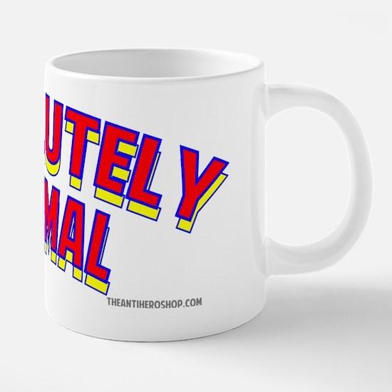 Absolutely Normal.png 20 oz Ceramic Mega Mug