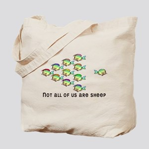 Not all are sheep Tote Bag