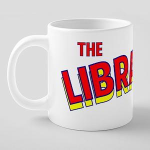 The Librarian.png 20 oz Ceramic Mega Mug