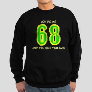 """68"" Sweatshirt (dark)"