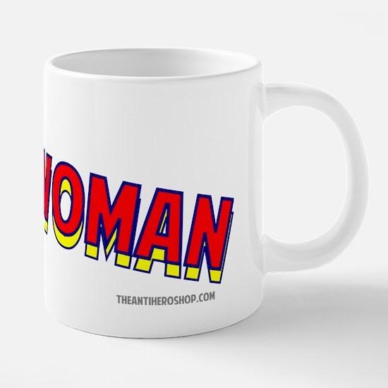 The Saleswoman.png 20 oz Ceramic Mega Mug