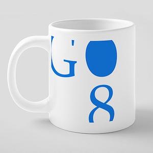 3-gobama 20 oz Ceramic Mega Mug