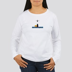 Tybee Island GA Women's Long Sleeve T-Shirt