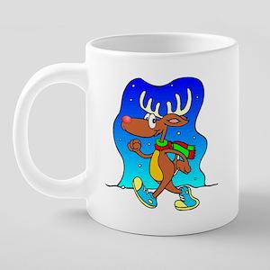 Reindeer Mug, final 20 oz Ceramic Mega Mug