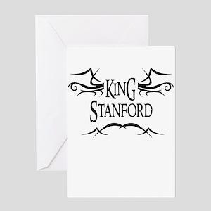King Stanford Greeting Card