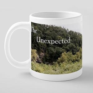 unexpected cup 2 20 oz Ceramic Mega Mug
