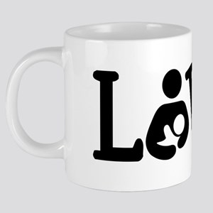 Breastfeeding Love 20 oz Ceramic Mega Mug