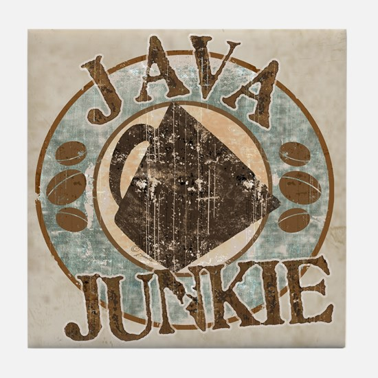 Java Junkie Tile Coaster