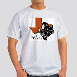 Monkey Scribes of Texas Grey T