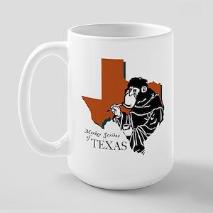 Monkey Scribes of Texas Large Mug