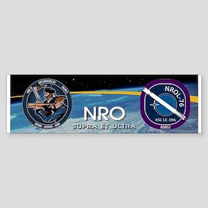 NROL-76 Launch Team Sticker (Bumper)