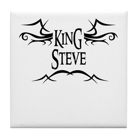 King Steve Tile Coaster