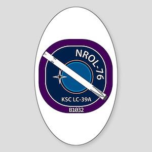 NROL-76 Launch Team Sticker (Oval)